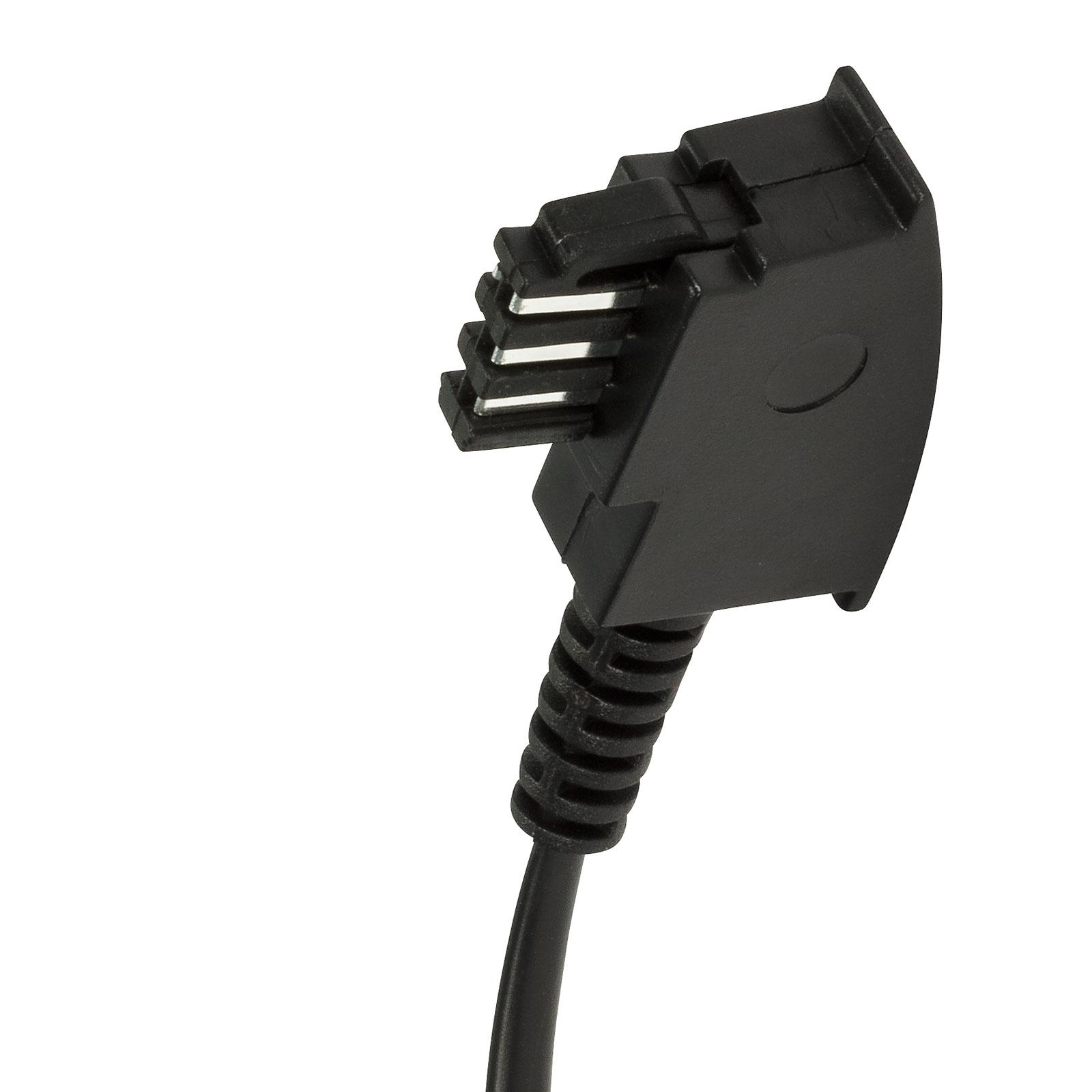 /> RJ11 Telekom Siemens Belegung Fernsprechen 15m Telefon Kabel TAE-F Stecker