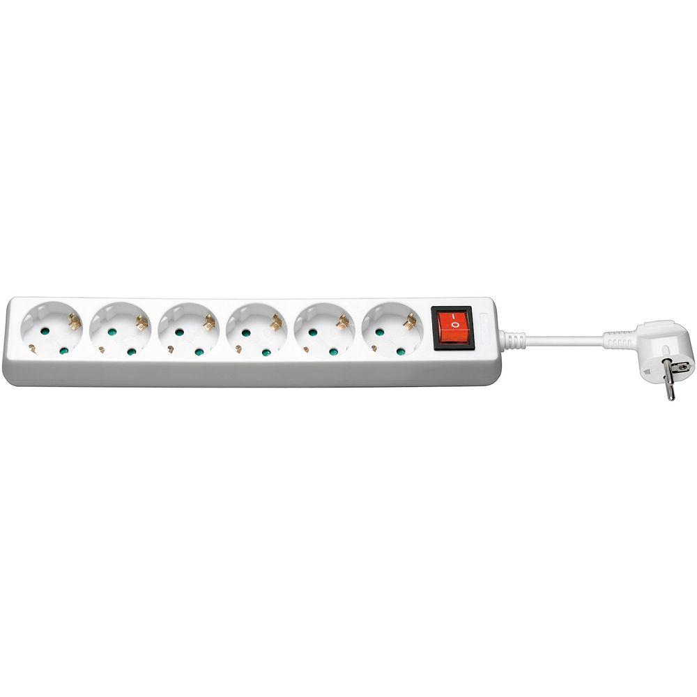Steckdosenleiste-Uberspannungsschutz-Mehrfachsteckdose-3500W-Steckdosen-Leisten